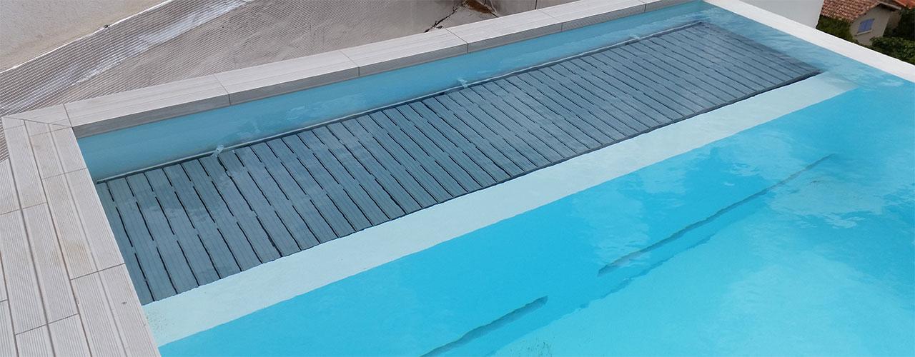 volet de protection et sécurité piscine